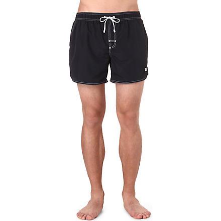 HUGO BOSS Lobster swim shorts (Black