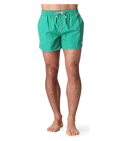 HUGO BOSS Lobster swim shorts (Green