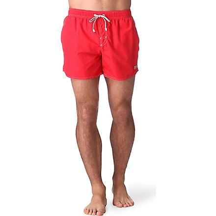 HUGO BOSS Lobster swim shorts (Red