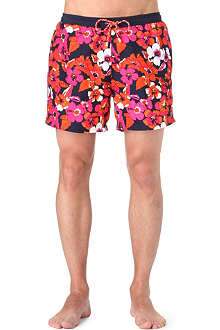 HUGO BOSS Piranha floral swim shorts