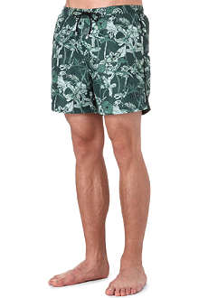 HUGO BOSS Roster floral-print swim shorts
