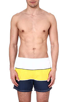 HUGO BOSS Butterflyfish tri-colour swim shorts