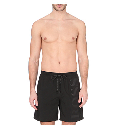 HUGO BOSS Orca swim shorts (Black