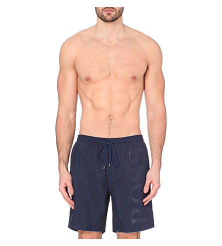 HUGO BOSS Orca swim shorts (Navy