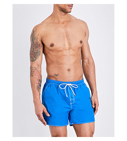BOSS Lobster woven swim shorts (Blue