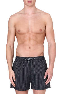 HUGO BOSS Vertical stripe swim shorts