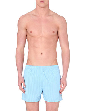 HUGO BOSS Striped swim shorts