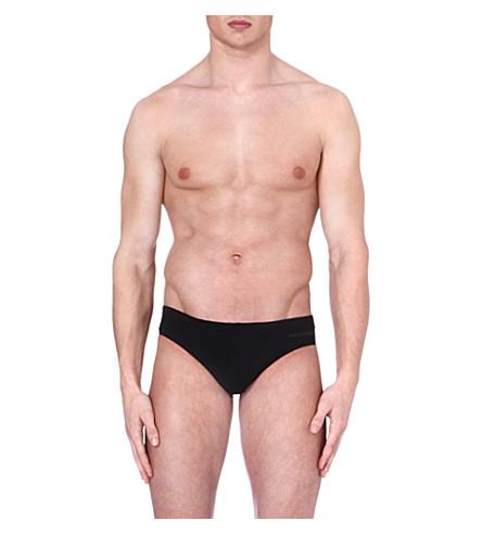 D SQUARED Logo swimming trunks (Black