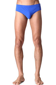 DIOR Contrast-band swim trunks