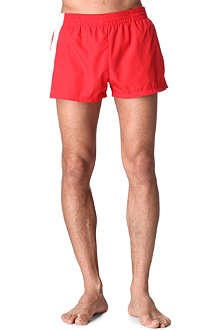 DIOR Contrast-band swim shorts