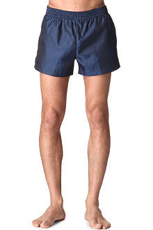 DIOR Metallic houndstooth swim shorts