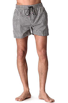PAUL SMITH Diamond print swim shorts