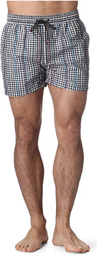 PAUL SMITH Checked swim shorts