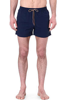 PAUL SMITH Zebra detail swim shorts