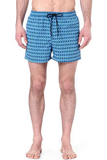 PAUL SMITH Overlapped-pattern swim shorts
