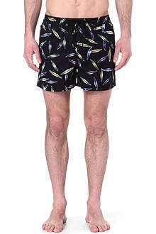 PAUL SMITH Techno print swim shorts