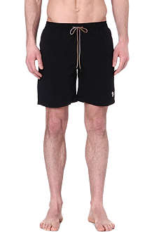 PAUL SMITH Zebra detail long swim shorts