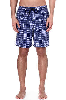 PAUL SMITH Circle-print swim shorts