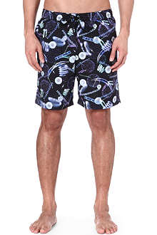 PAUL SMITH UFO print swim shorts