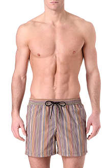 PAUL SMITH Classic multi-striped swim shorts