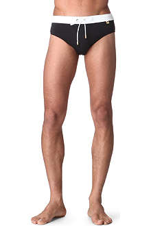 VERSACE Two-toned swimming trunks
