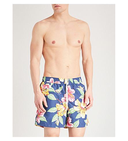 POLO RALPH LAUREN Traveller floral-print swim shorts (Navy+multi
