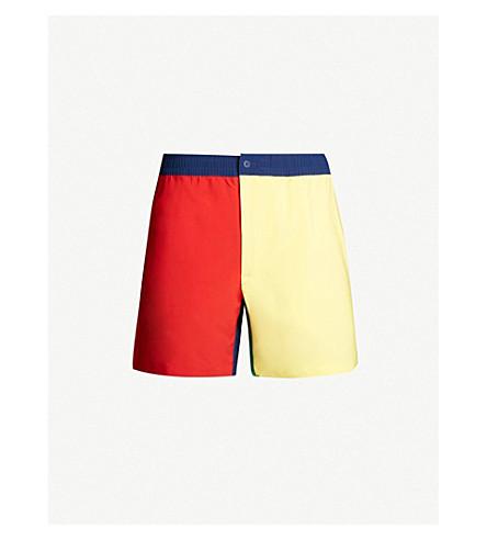 e99381070 POLO RALPH LAUREN Prepster block-colour swim shorts (Primary+colorblock
