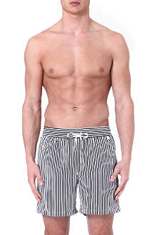 RALPH LAUREN Stripe hawaiian swim shorts