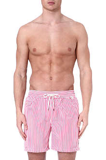 RALPH LAUREN Hawaiian striped swim shorts
