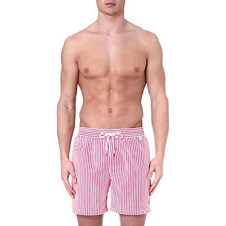 RALPH LAUREN Hawaiian striped swim shorts (Pink
