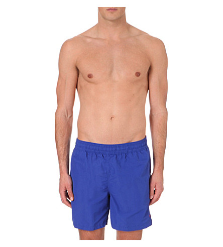 POLO RALPH LAUREN Hawaiian swim trunks (Rugby+royal