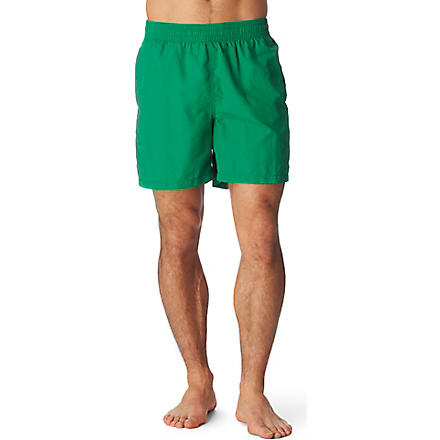 RALPH LAUREN Hawaiian swim shorts (Afr green/lf bt