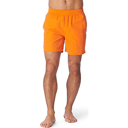 RALPH LAUREN Hawaiian swim shorts (Lf bt org/sf bl