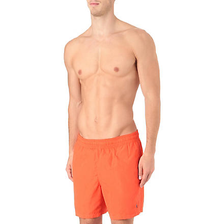 RALPH LAUREN Hawaiian swim shorts (Orange