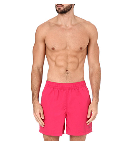 POLO RALPH LAUREN Hawaiian swim shorts (Pink