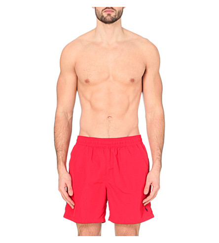 POLO RALPH LAUREN Hawaiian swim shorts (Red