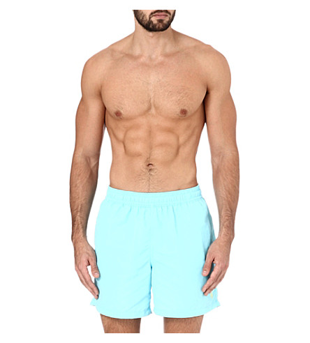 POLO RALPH LAUREN Hawaiian swim shorts (Turq