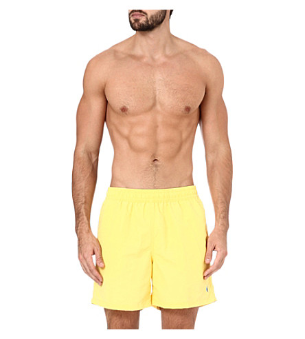 RALPH LAUREN Hawaiian swim shorts (Yellow
