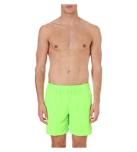POLO RALPH LAUREN Hawaiian swim shorts (Rescue+green