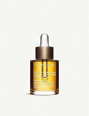 CLARINS Blue Orchid face treatment oil – dehydrated skin 30ml
