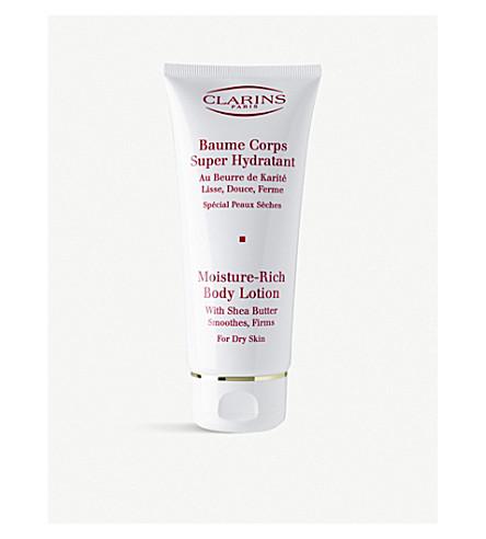 CLARINS Moisture rich body lotion 200ml
