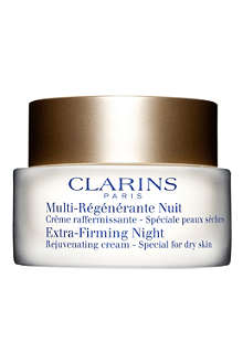 CLARINS Extra–Firming Night Rejuvenating Cream – dry skin