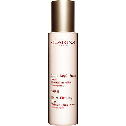 CLARINS Extra–Firming Day Wrinkle Lifting Lotion SPF 15