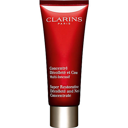 CLARINS Super Restorative décolleté and neck concentrate 75ml
