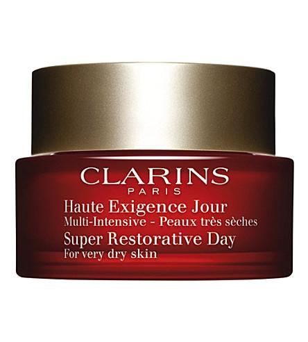 CLARINS 超级恢复性日霜为非常干燥的皮肤50毫升