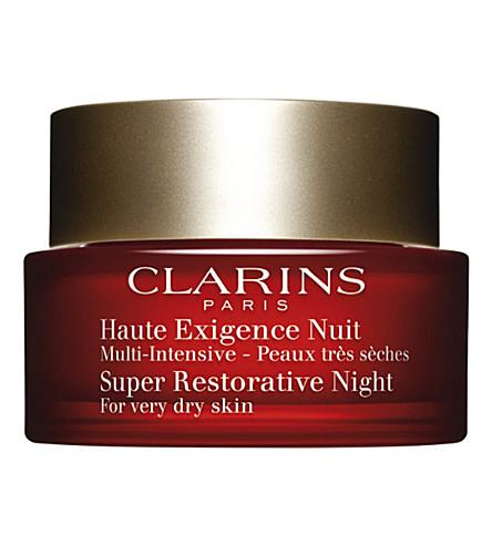 CLARINS 超级修复夜乳霜为非常干燥的皮肤50毫升