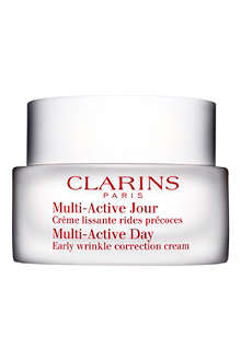 CLARINS Multi–Active Day Early Wrinkle Correction Cream – all skin types 50ml