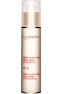 CLARINS Multi–Active Day Early Wrinkle Correcting Lotion SPF 15 50ml