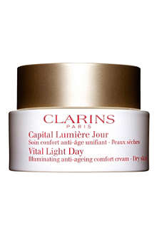 CLARINS Vital Light Illuminating day cream 50ml