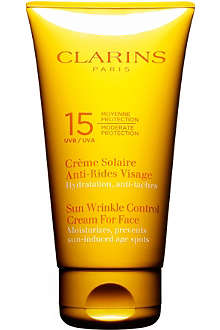 CLARINS Sun wrinkle cream UVB 15 75ml